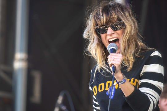9/30/18  Nicole Atkins performs at the See.Hear.Now festival in Asbury Park. Photo James J. Connolly/Correspondent