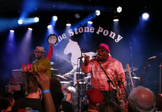 Preservation Hall Jazz Band performs at the Sea Hear Now after party, at the Stone Pony. Asbury Park, N.J. Saturday, September 29, 2018 Noah K. Murray-Correspondent Asbury Park Press