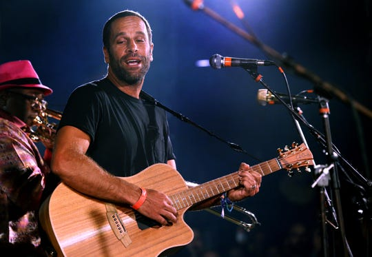 Jack Johnson with the Preservation Hall Jazz Band at the Stone Pony Sea.Hear.Now after-party on  Saturday, Sept. 29, 2018
