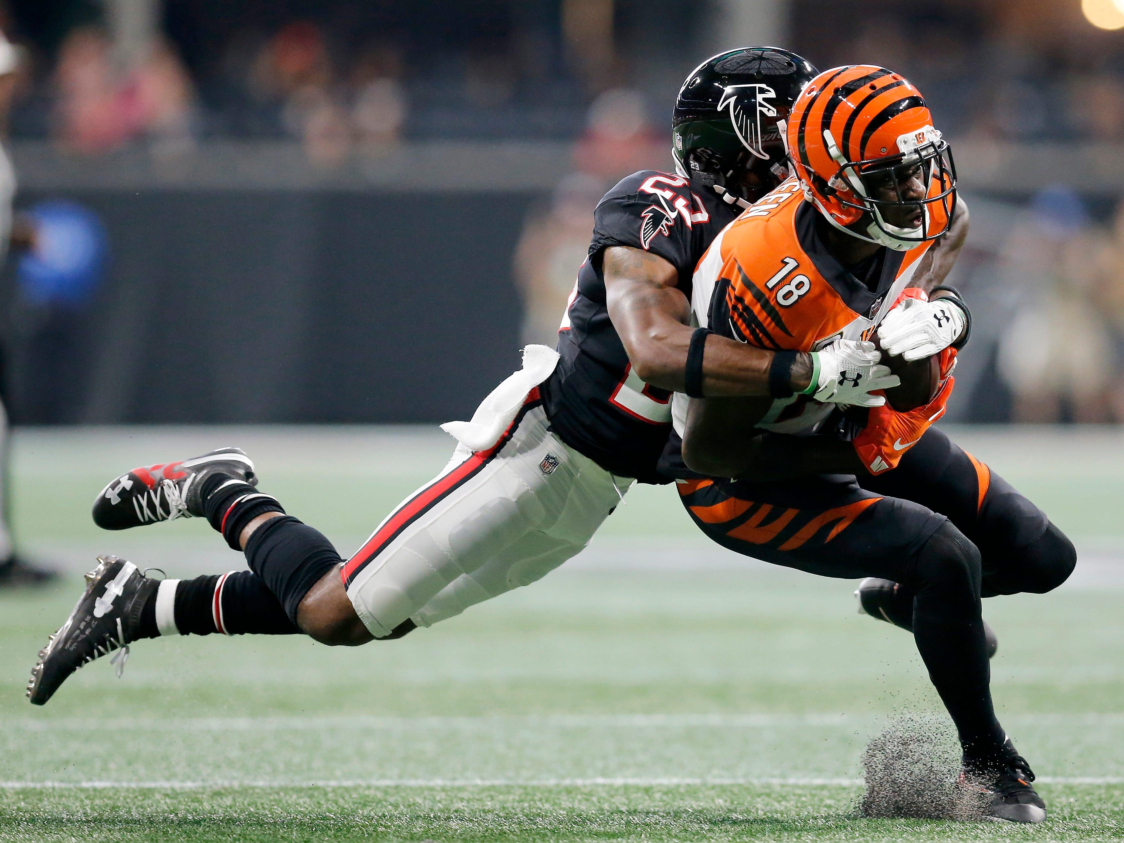 A.J. Green scores late TD in Cincinnati Bengals win against Atlanta Falcons
