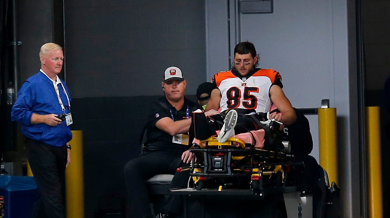 What we know about the injury to Cincinnati Bengals tight end Tyler Eifert