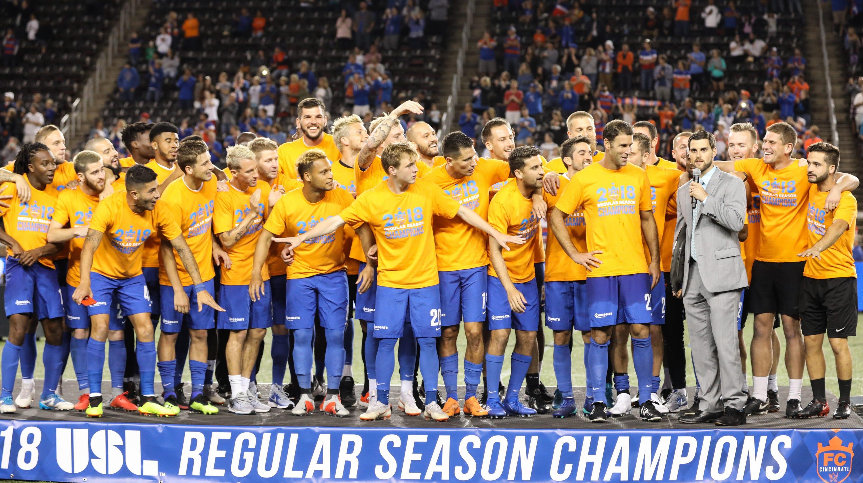 san francisco 3840d 48ce6 FC Cincinnati to host Nashville SC in USL Cup playoffs