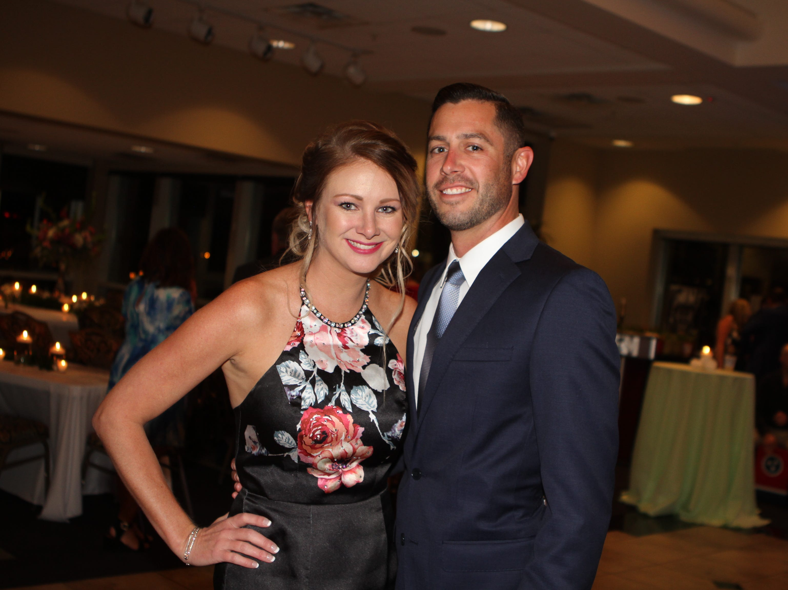 Brittnye Stanfill and Robby Shawver at the Dawn Stanfill Foundation 10th Annual Dancing Til Dawn to benefit Middle Tennessee children battling pediatric cancer on Saturday, Sept. 29, 2018.
