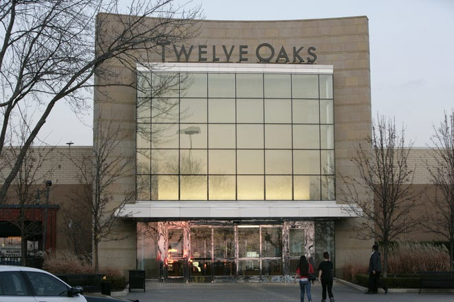 Twelve Oaks Mall will temporarily close by the end of the day on March 19.