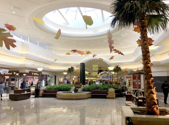 The inside of Oakland Mall in Troy on Sept. 26, 2018