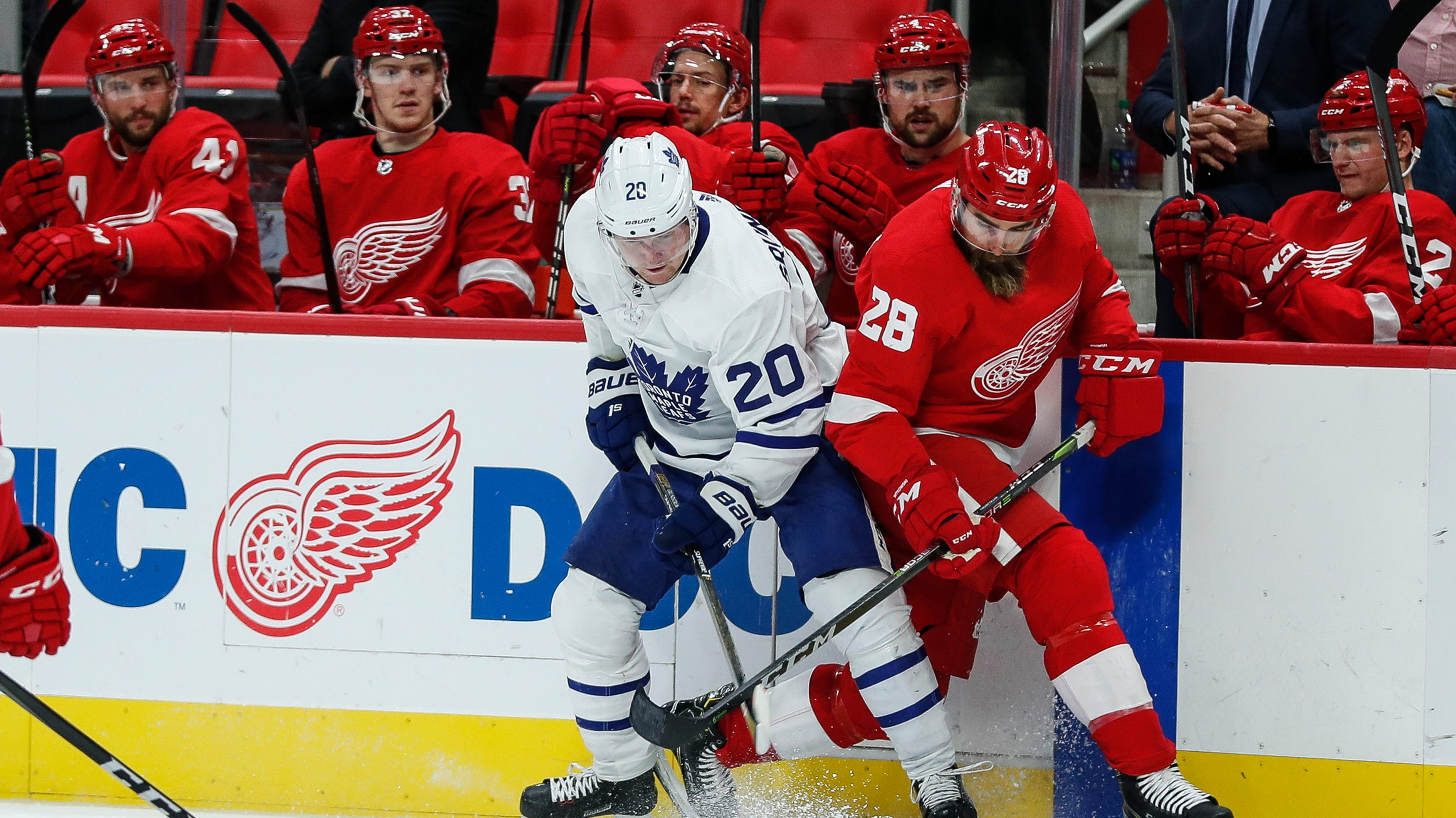 What s next for Detroit Red Wings after Luke Witkowski clears waivers  806675ccf