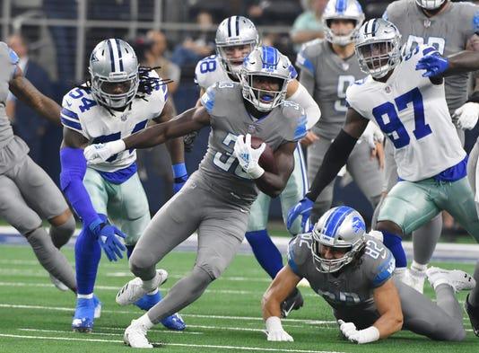 2018 0930 Dm Lions Cowboys0622. Lions running back Kerryon Johnson ... 8141224a0