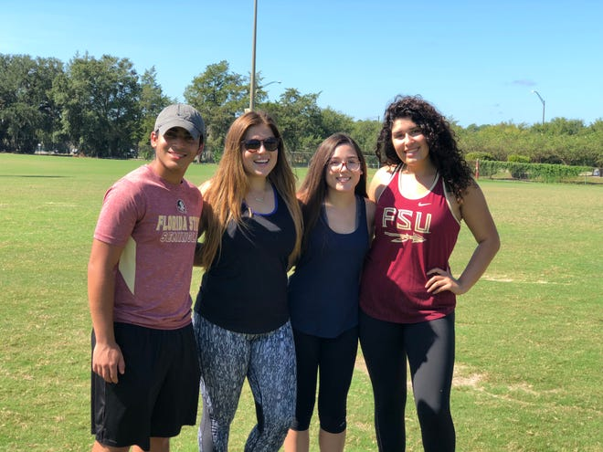 For Hispanic Heritage Month, HLSU members in participate in the Olympics event on Wednesday, Sept. 29, at the Old IM Fields.