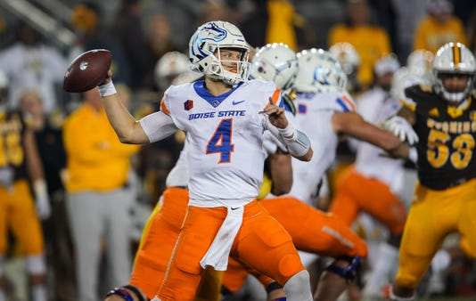Ncaa Football Boise State At Wyoming