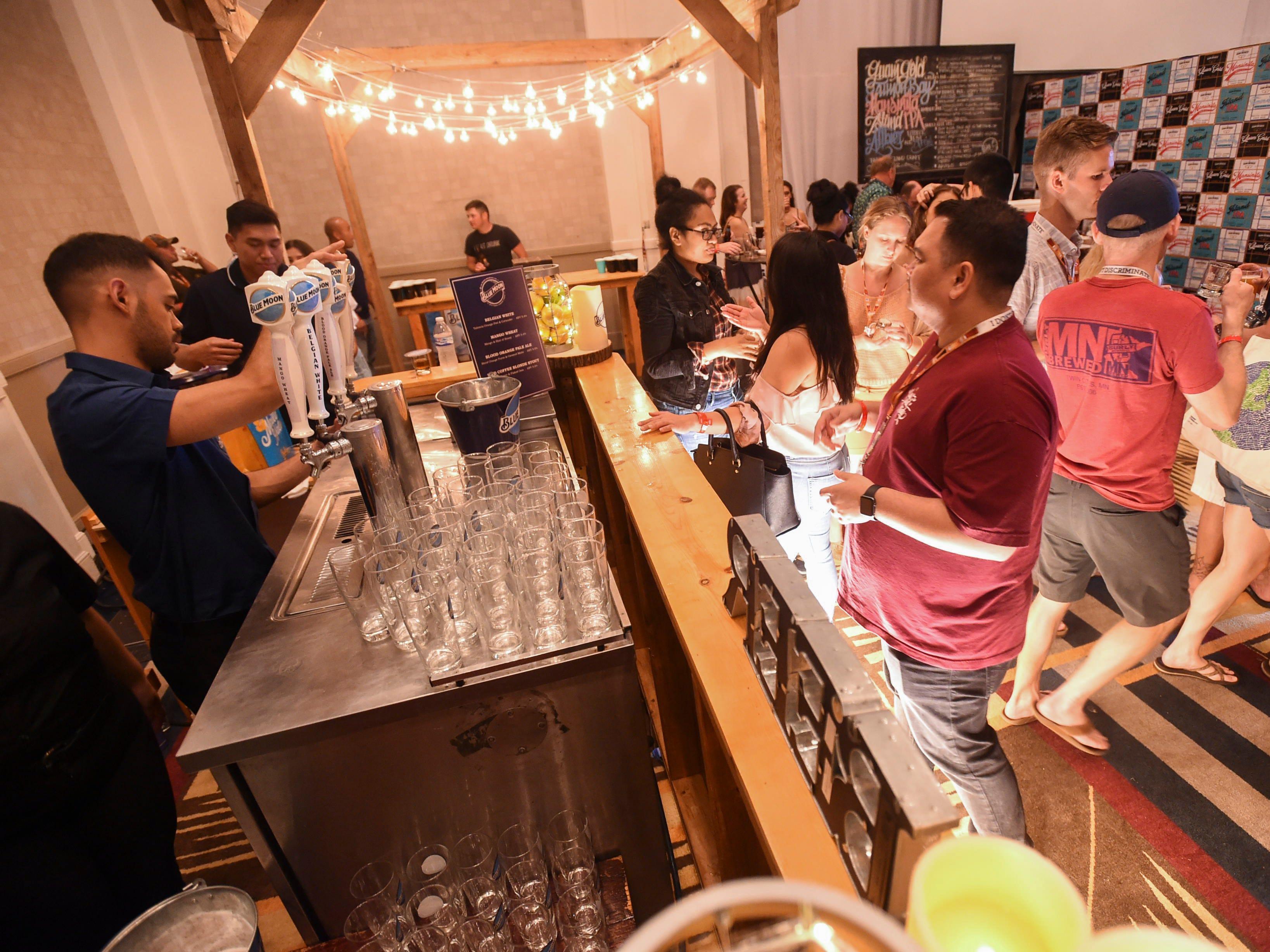 The Circle K Craft Beer Festival was held at the Sheraton Laguna Guam Resort, Sept. 29, 2018.