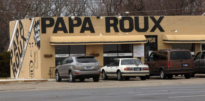 Papa Roux restaurant is at 8950 E. 10th St., on the east side of Indianapolis.
