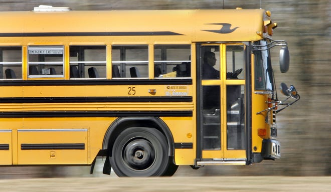 A school bus on its route. / Rob Goebel / The Star 2009 file photo