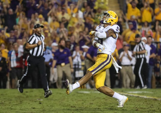 Ncaa Football Mississippi At Louisiana State