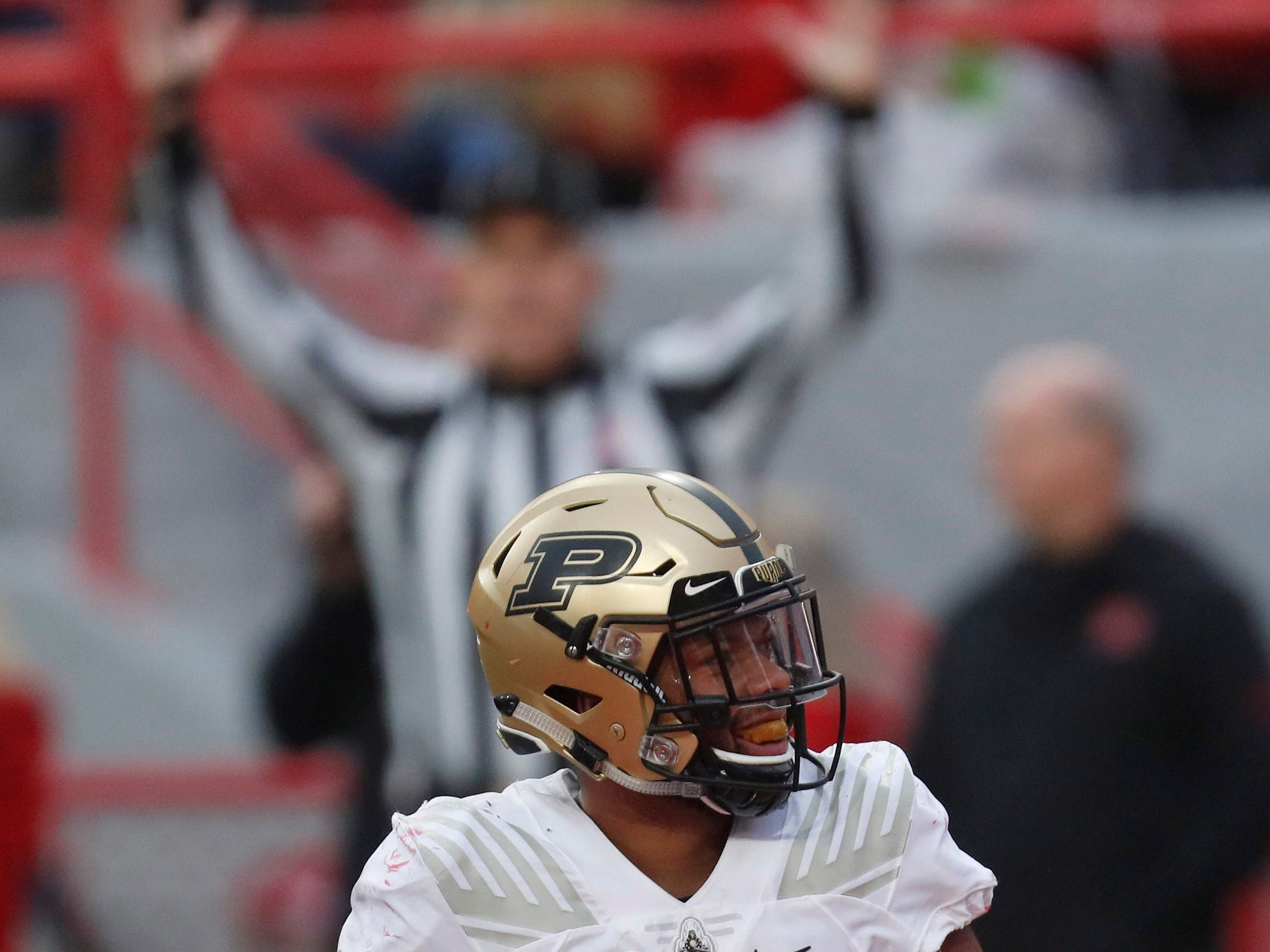 In the huddle with Purdue running back Markell Jones | Flying around