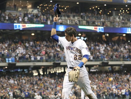 Brewers hit road for final shot at NL Central