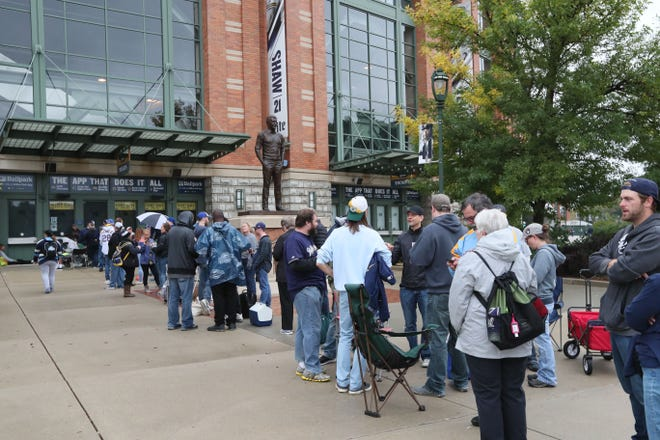 The Brewers will give fans the option of a refund to postponed games in April or credits to future games.