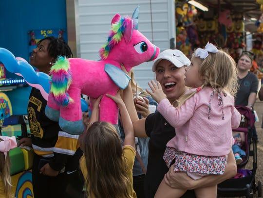 The Ark-La-Miss Fair continues through Sept. 29.