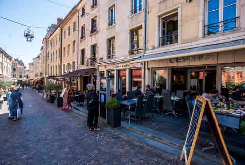 Dining in Nancy
