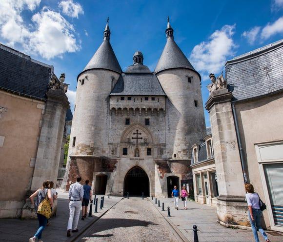 The Porte de la Craffe in Nancy, France