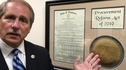 Bill Ketron Shows Off Law