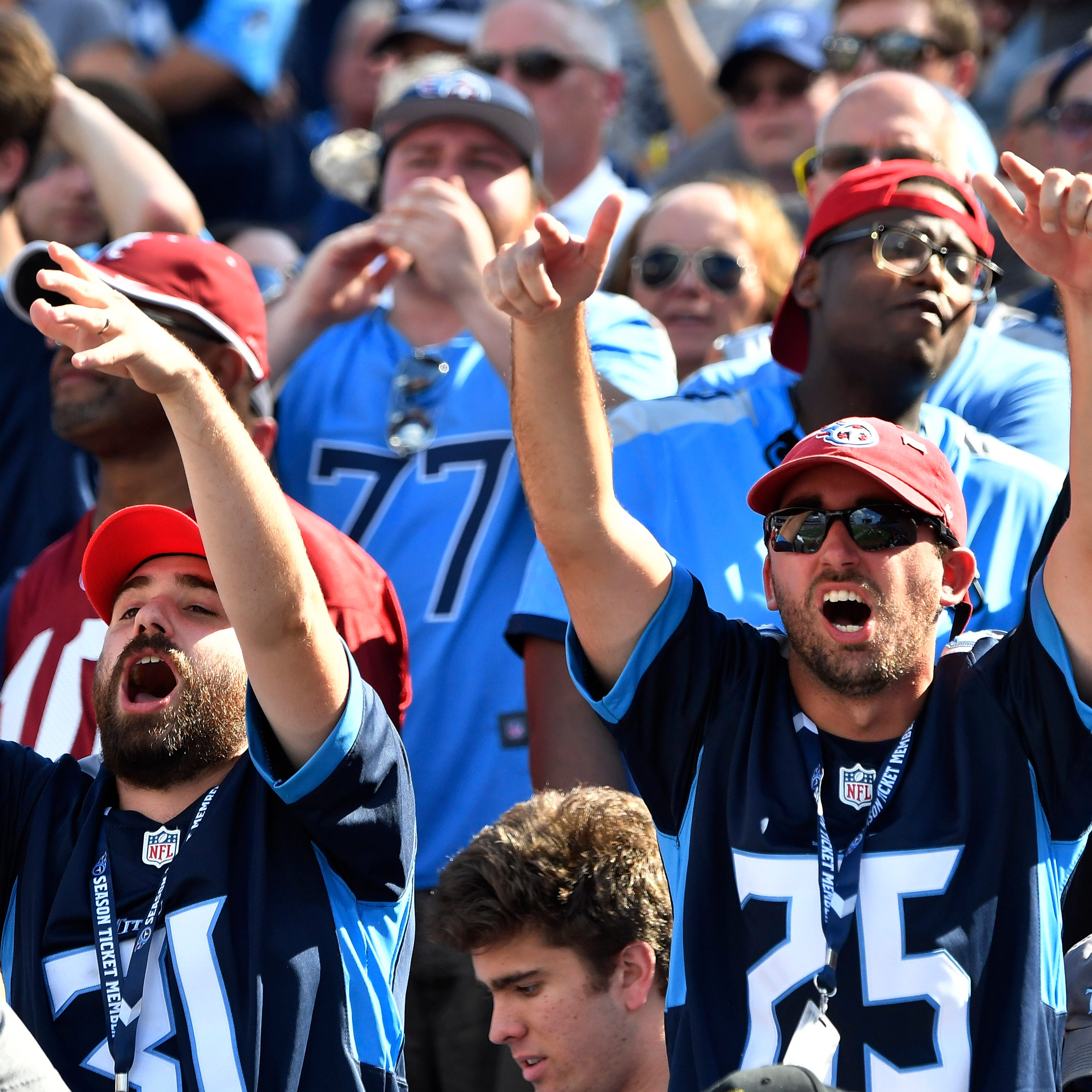 Titans in London: Early kickoff creates church-football conflict for Titans fans