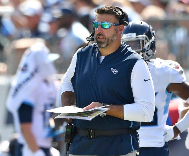 Titans coach Mike Vrabel
