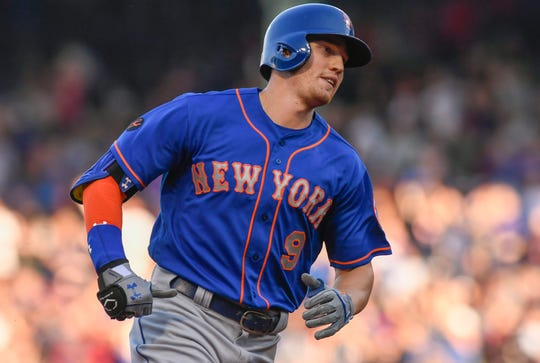 New York Mets outfielder Brandon Nimmo