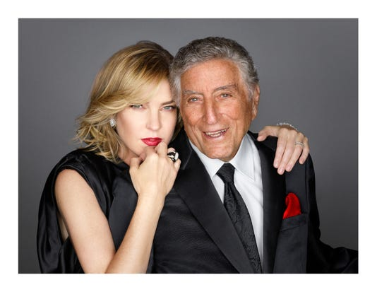 Diana Krall And Tony Bennett Mark Seliger