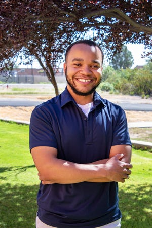 Trashard Mays, a graduate student at New Mexico State University, is using resources provided by Arrowhead Center at NMSU to commercialize vacuum technology developed by the Air Force Research Laboratory.