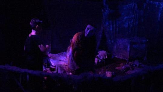 Creepy children sing haunting lullabies at The Purgatorium in Pensacola.