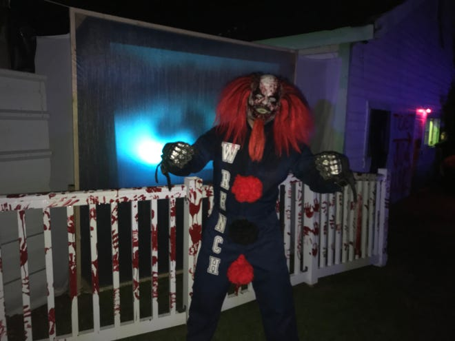 Creepy clowns are only one of the many scares at The Purgatorium in Myrtle Grove.