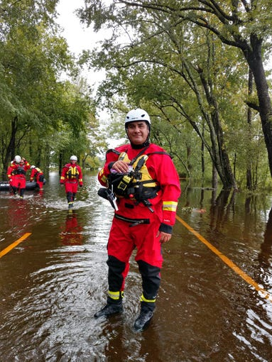 Arizona Task Force 1 was deployed to Mt. Juliet, Tennessee, after Hurricane Florence.