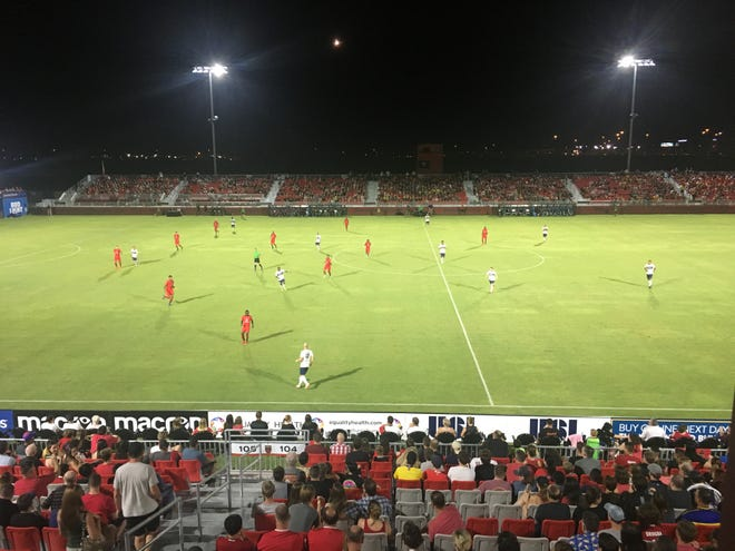 Phoenix Rising FC chase the No.1 seed in the USL Western Conference in match against Saint Louis FC on Saturday, Sept. 29.