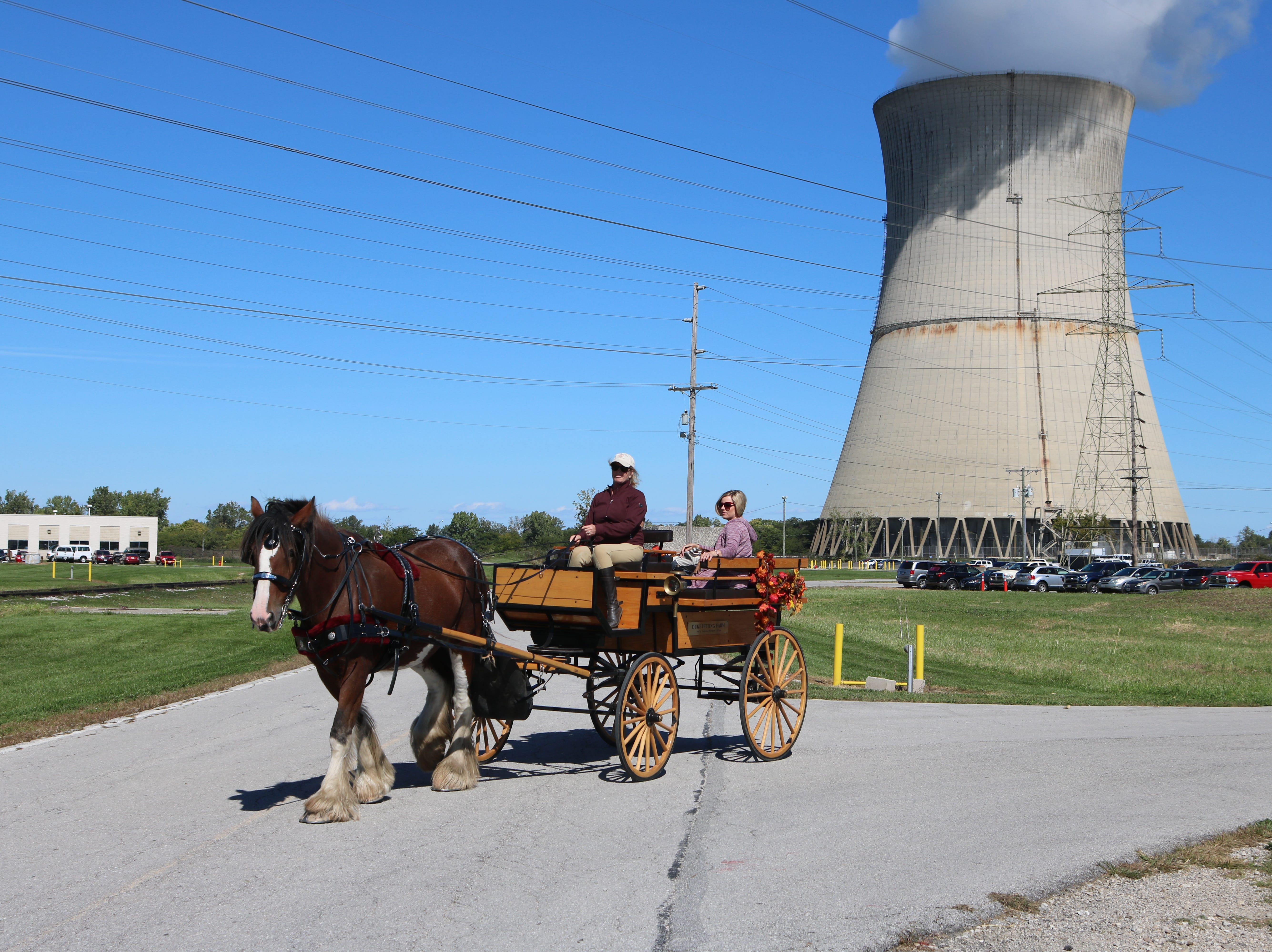 The Davis-Besse Nuclear Power Station hosted the second annual Cruisin' To The Future Car Show and Community Day on Saturday.