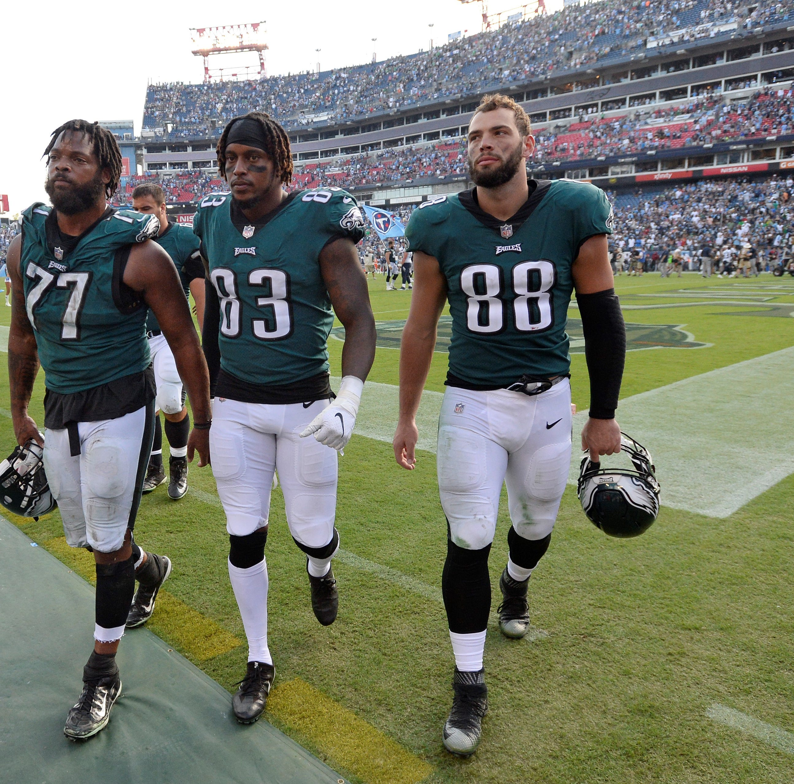 Philadelphia Eagles blow 14-point, second-half lead in overtime loss vs. Tennessee Titans