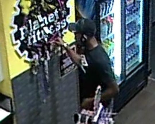Springettsbury Township are looking for this man in connection with a theft at Planet Fitness, 1248 Greensprings Dr., on Sept. 20.