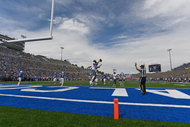 Nevada got on the scoreboard first Saturday on a Ty Gangi-to-Elijah Cooks pass for 40 yards.