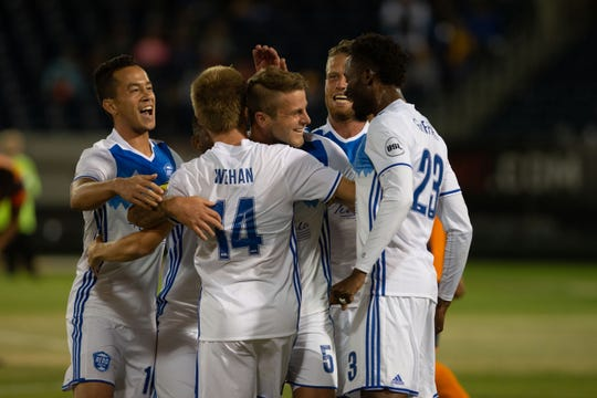 Reno 1868 FC played 'Tulsa Roughnecks FC  on Saturday at Greater Nevada Field in downtown Reno.