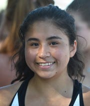 "Reno""s Celeste Parker is one of Reno high's  top singles player."
