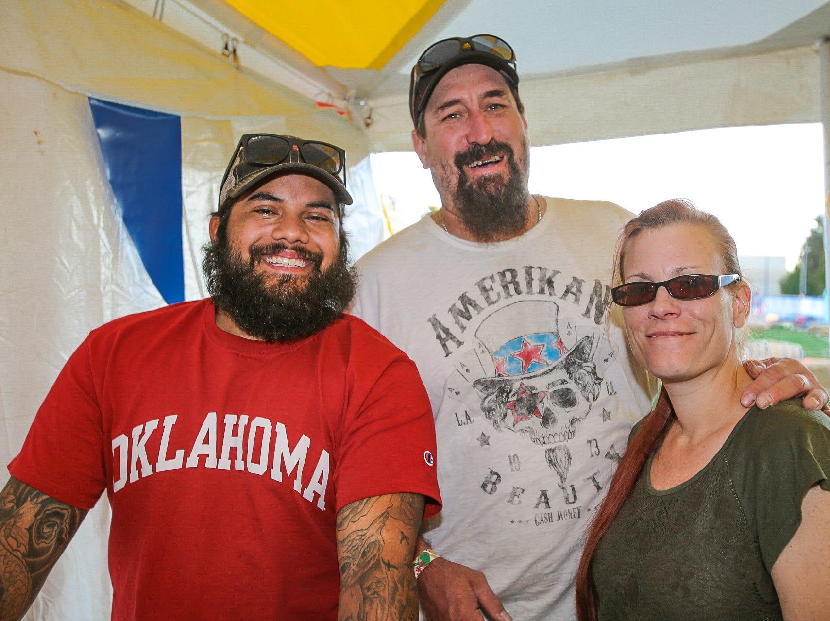 Alex, Monte, and Liza