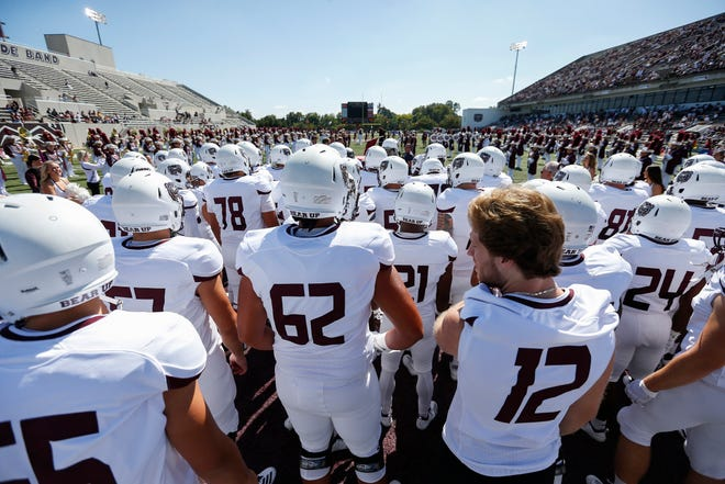 One of the major dominoes yet to fall will be the decision on Missouri State football's season opener against Oklahoma.