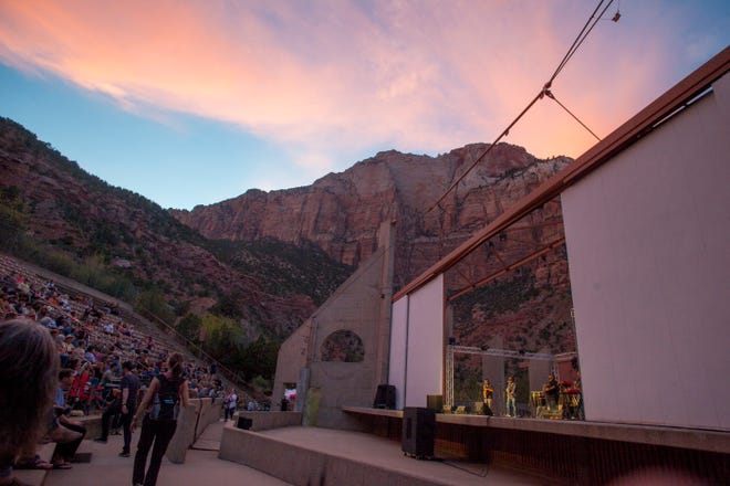 The Zion Canyon Music Festival at the O.C. Tanner Amphitheater Friday, Sept. 28, 2018.