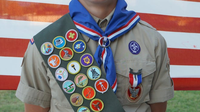 Ashten Roman, a member of Troop 2998 in Mesquite, received his Eagle Scout Award.