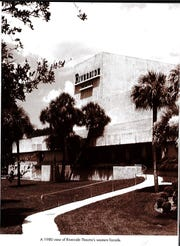 The Riverside Theatre in 1980. In 1976, the Vero Beach Community Theatre's name was officially changed to Riverside Theatre and in 1980 Riverside Children's Theatre was created to expose the performing arts through classes and productions to children of the area.