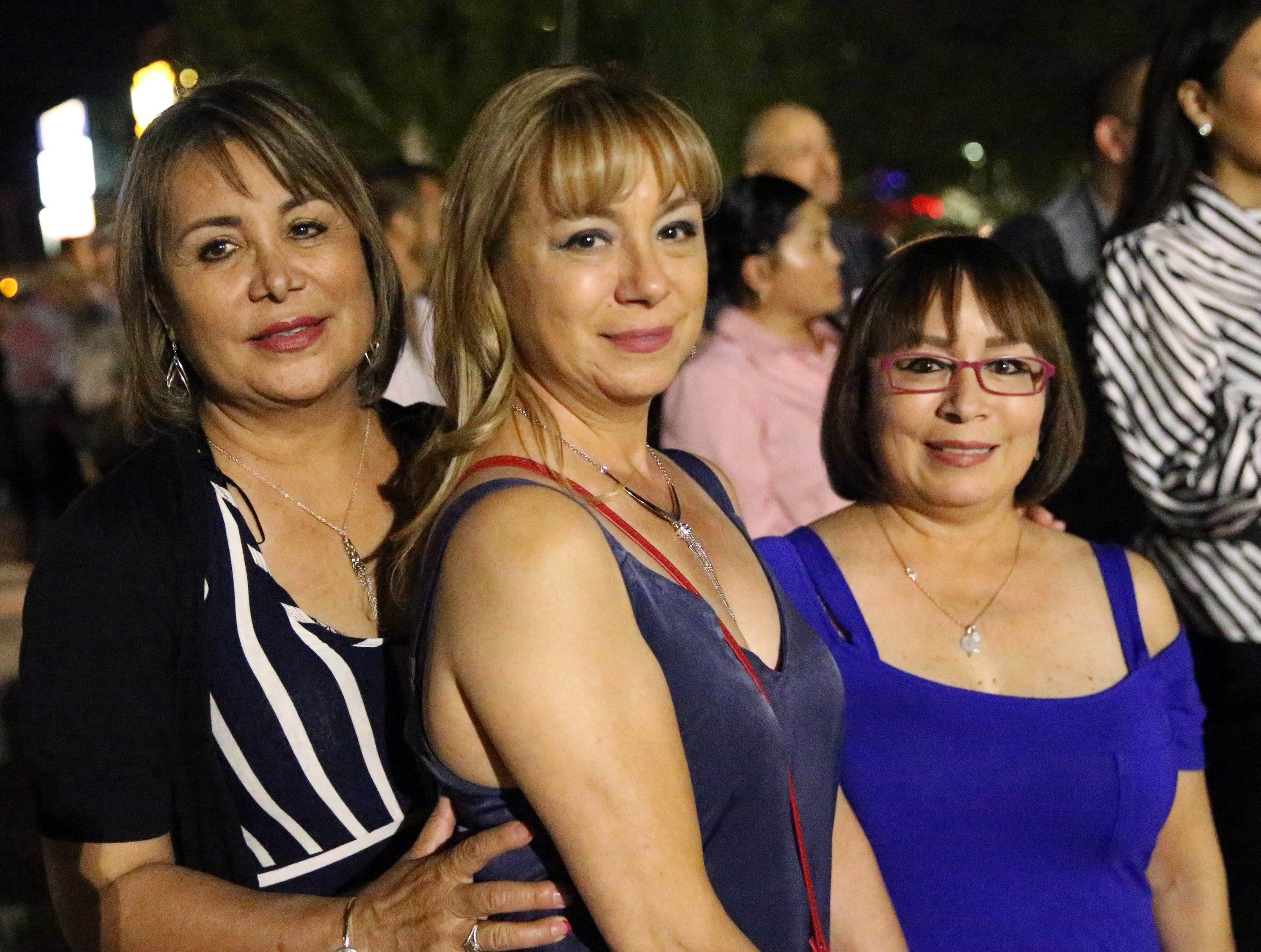 L-R: Rebecca Ornelas, Yolanda Carbajal and Bertha Rios.