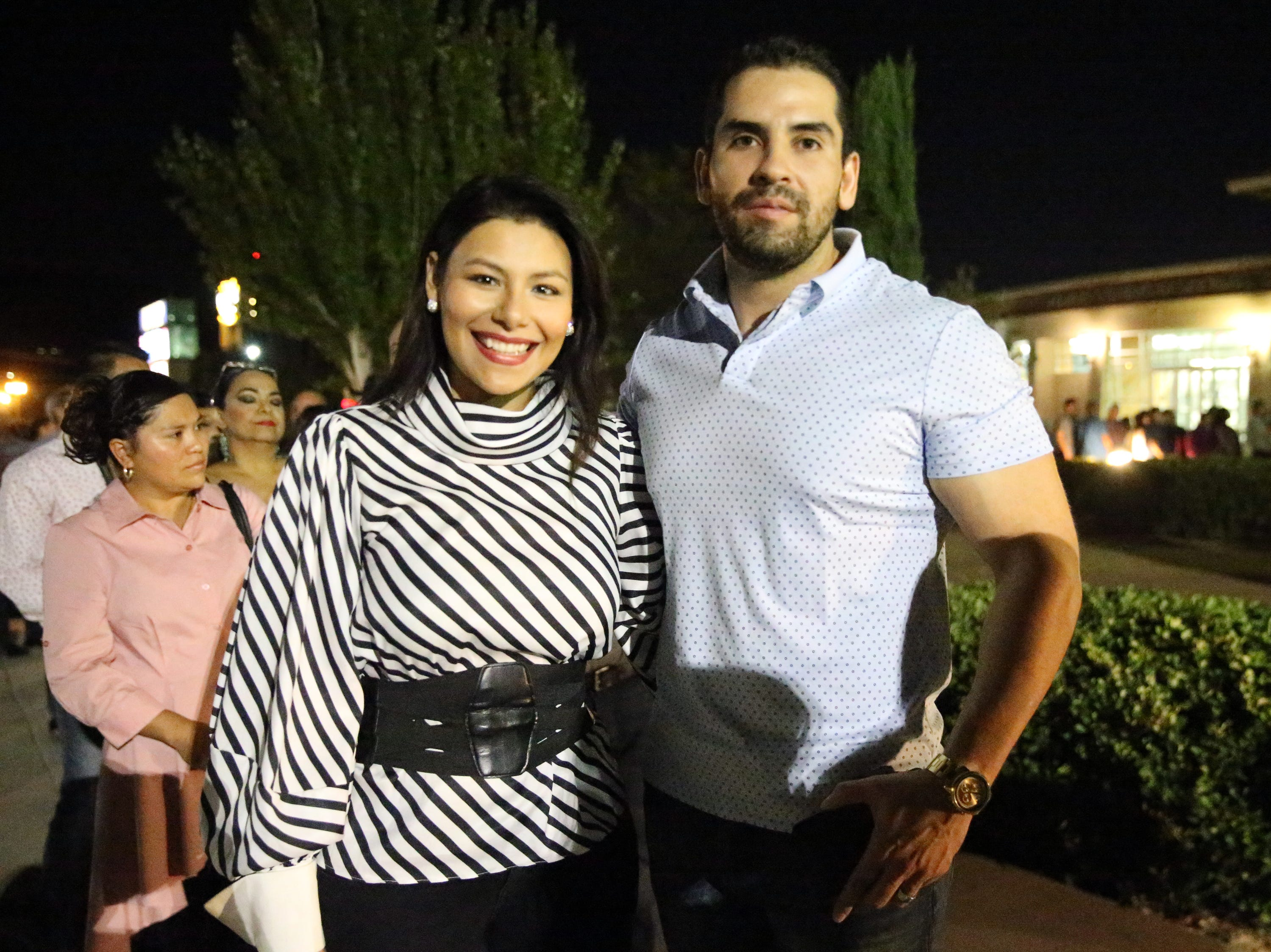Salvador and Carolina Villarreal.