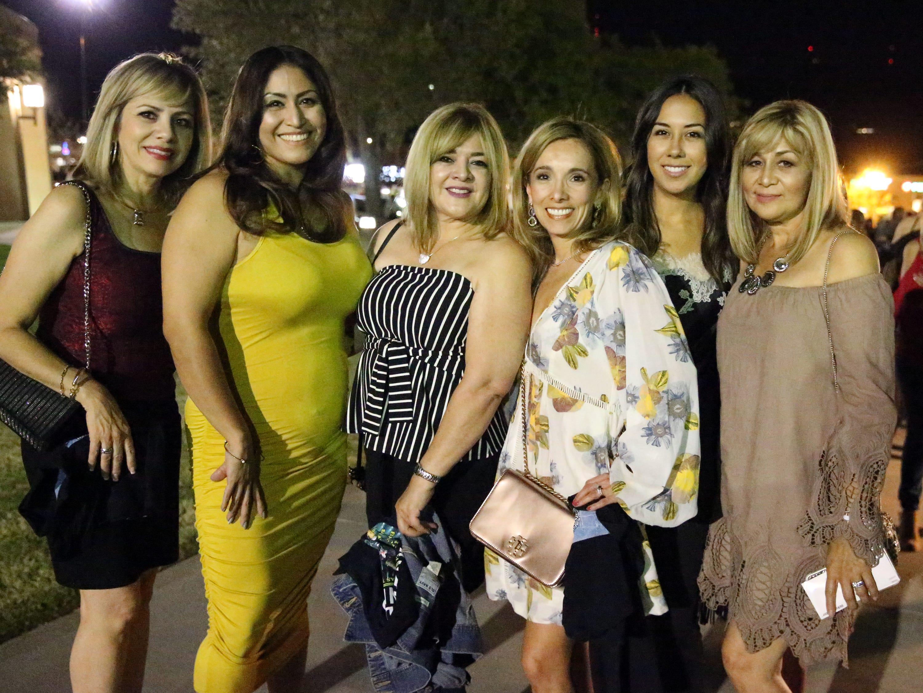 L-R: Virginia Marquez, Mercedes Hernandez, Elizabeth Puga, Danielle Drew, Amanda Marquez and Blanca Ramirez.