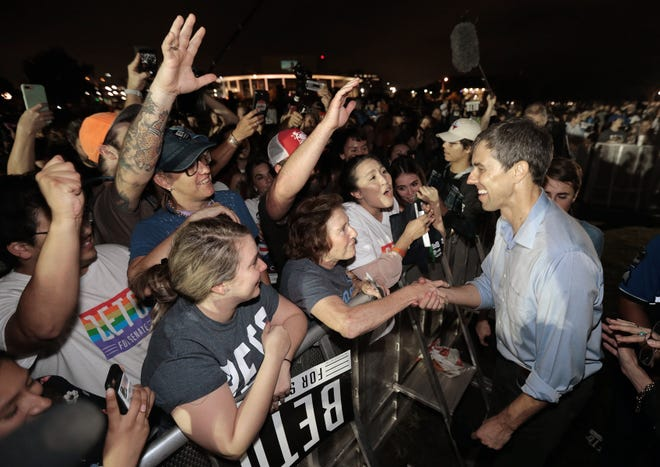 Springfield friends of Senate candidate Beto O'Rourke are planning a fundraiser for the Texas Senate candidate scheduled for Oct. 21, 2018. Recently O'Rourke joined Willie Nelson and other Texas musicians recently for a rally and concert in Austin.