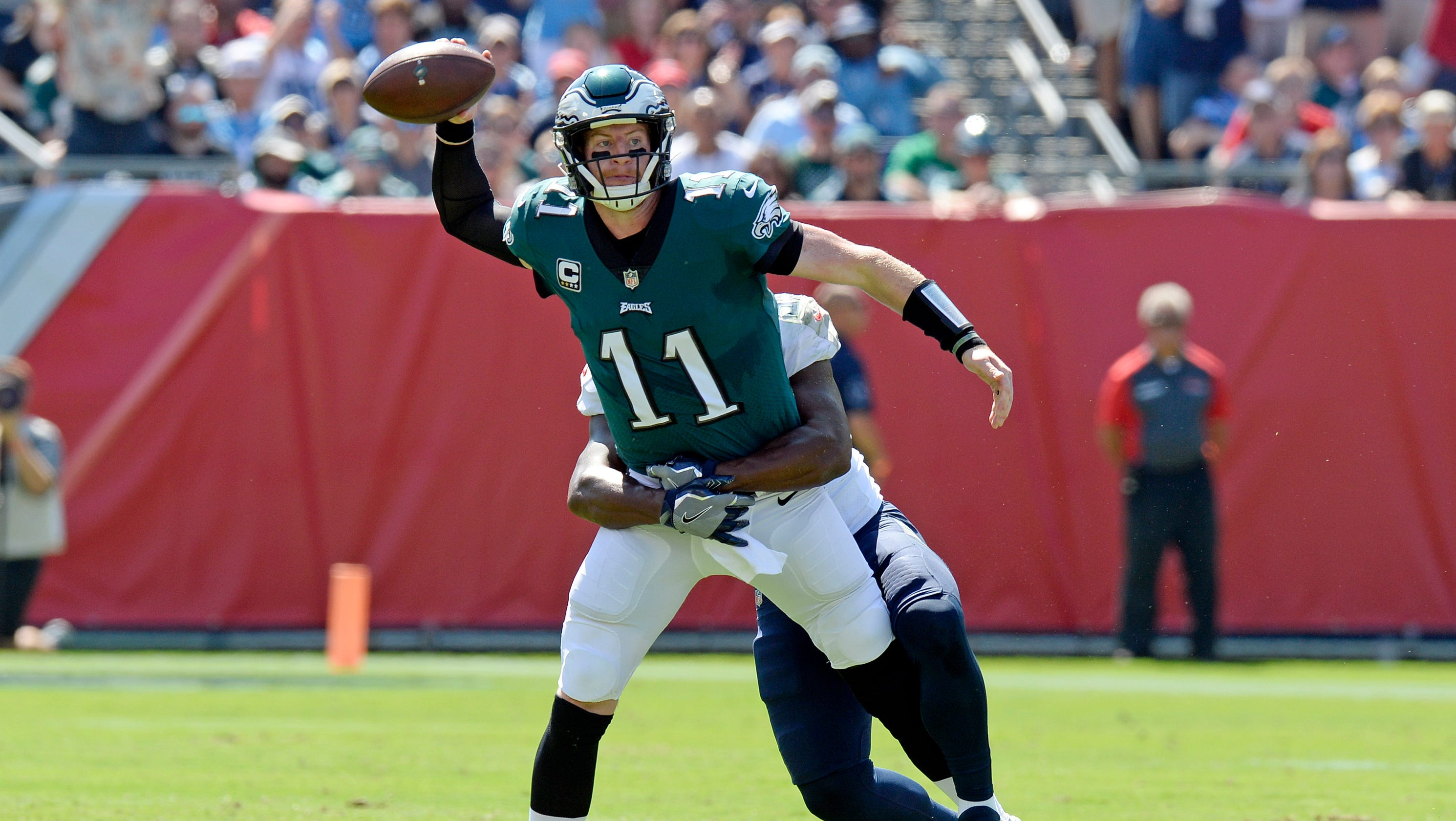 e40f50471ac Is Philadelphia Eagles' QB Carson Wentz even better after knee surgery? In  some ways, yes