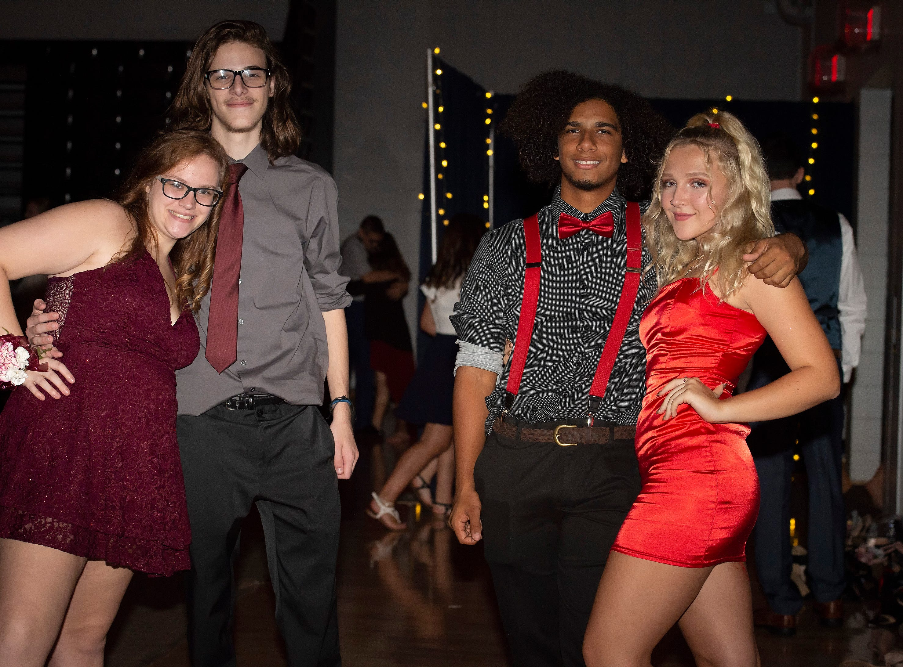 Students and their guest attend the Sussex Tech High School homecoming dance Saturday, Sept 29, 2018 at Sussex Tech High School.